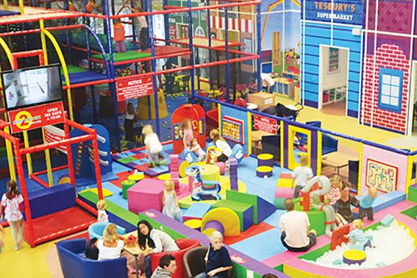 Play area at One2Eleven