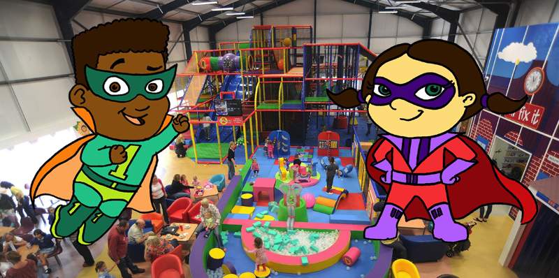 Join the super superheroes at One2eleven this May Half Term